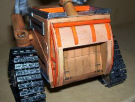 Walle-E Papercraft 7 by Neolxs