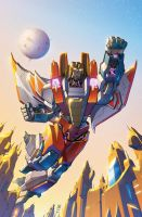 Transformers RID #3 cover colors by khaamar