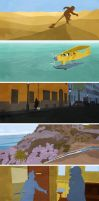 The Adventures of Tintin Illustrations by Jack-C-Gregory
