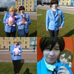 Haruhi and Honey from OHSHC Cosplay by Londonexpofan