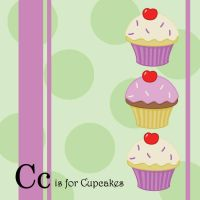 C is for Cupcakes by tlagrange
