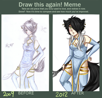 Draw This Again Meme by Rey-Of-Sunlight