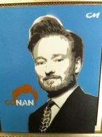 Conan O'brien by Stencils-by-Chase
