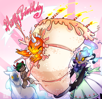 PKMNation: A messy celebration! by Ignis-Abyssus-Ranch