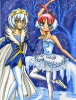 Dancing in a Winter Wonderland by Tamao