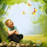 butterfly catcher by kirina66