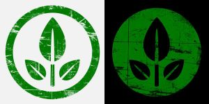 WALL-E EVE leaf logo 2 by tibots