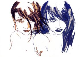the neon sisters by zeruch