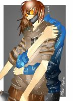 Eyeless Jack and Ticci Toby by MikeruMorino