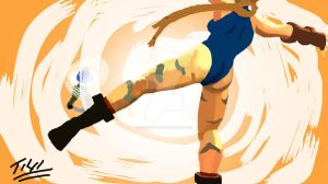 Cammy Gets Corkscrew Crossed by tonycreatah