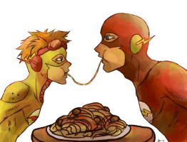MANLY MEAL TIME by shalinn