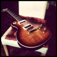 My Richwood LP RE - 125 by NIHILUSDESIGNS