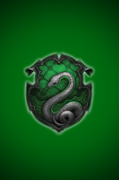 Slytherin iPhone wallpaper 1 by technoKyle