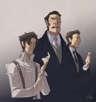 baccano - the gandors by chirart