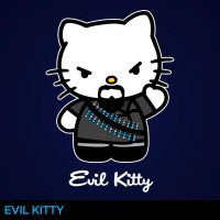 Evil Kitty by Alecx8