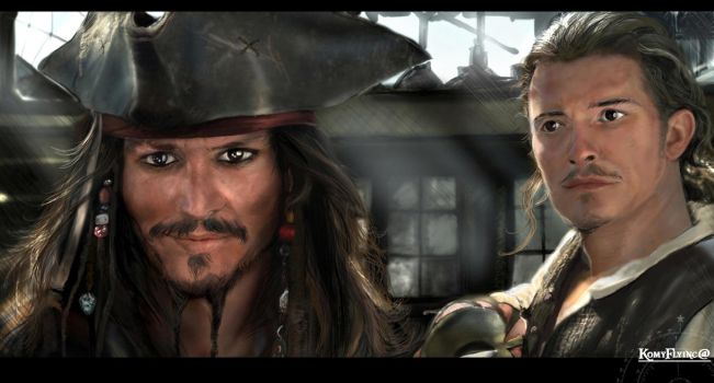 Son I am Captain Jack Sparrow by KomyFly