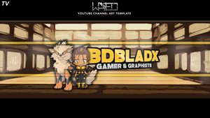 BDBladx's Youtube banner ! by BelgianGrapher