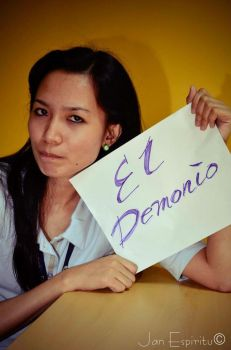 Fan Sign For My Fighter Name El Demonio 4 by Owen0o0