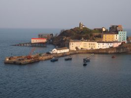 harbour quayside by nonyeB