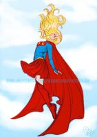 Supergirl sketch request by Roots-Love