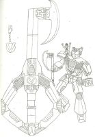 Vangelus' Keyblade transformer by Cyber-Zacon