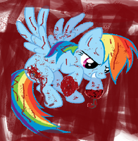 Rainbow Dash Vector   Brave By Anxet-d54sx69 by Andreea66