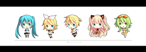 VOCALOID mini series by kuratine