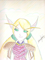 Blood Elf by lightning-thief-fan1