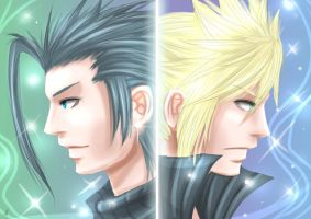 FF7:CC: Heroes by DarkLitria