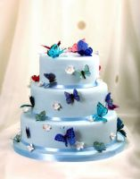 Butterfly Effect Cake by xXx--Kawaii--xXx