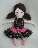 Cupcake Doll by indecisivefabric