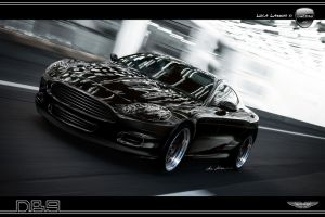 Aston Martin DB9 Black Bullet by LazziTuning