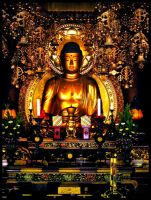 Golden Buddha by chinotenshi