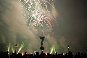 Epcot Illuminations Stock 51 by AreteStock
