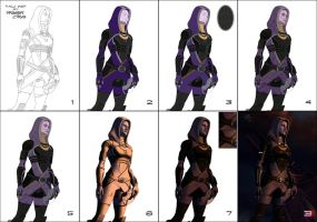 Tali WIP by Master-Cyrus