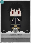 Fairy card's 7 - Gajeel by spyrojojo