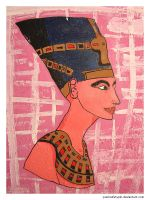 Nefertiti by punksafetypin