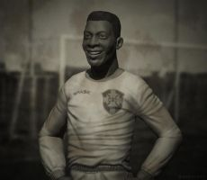 Pele - The King of Soccer by GastonBR