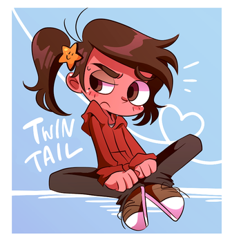 Twin tail Marco by sudako888