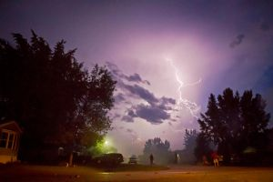 Lightning Storm by cathy001