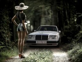Mercedes W124 by rulerz96