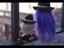Is Hard to be a Witch by MySweetQueen-Dolls