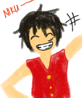 RP-Luffy by InfectedPlushieLove