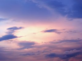 Sky Purple and blue by PhotoTori
