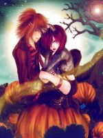 Halloween Contest Entry-Rosealyn/Shohei by latinacrg