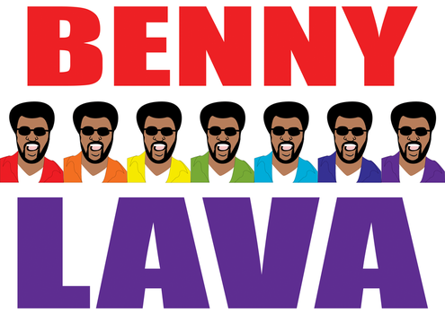 Benny Lava T-Shirt by fragmeister