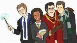 The Book of HP crossovers by paperpawn