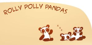 Rolly Polly Pandas by RAWr-its-ASH