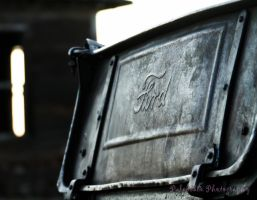 Old Ford Truck Box by Kaptive8
