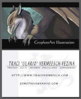 GryphonArt Illustration - Business Cards by Ulario